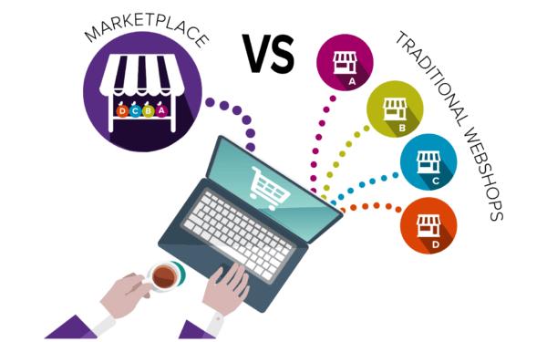 marketplace et webshops