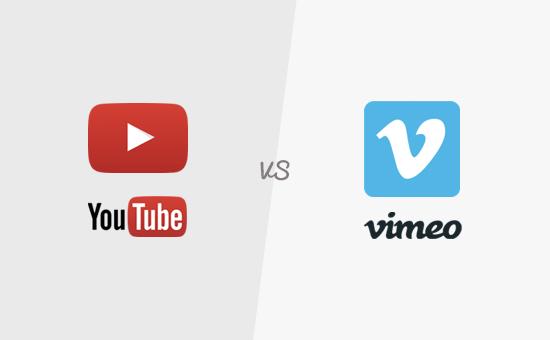 vimeo et youtube