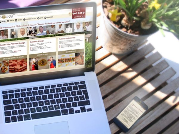 un site internet événementiel