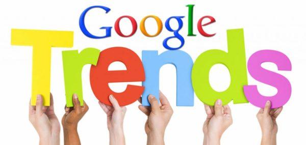 utiliser Google Trends