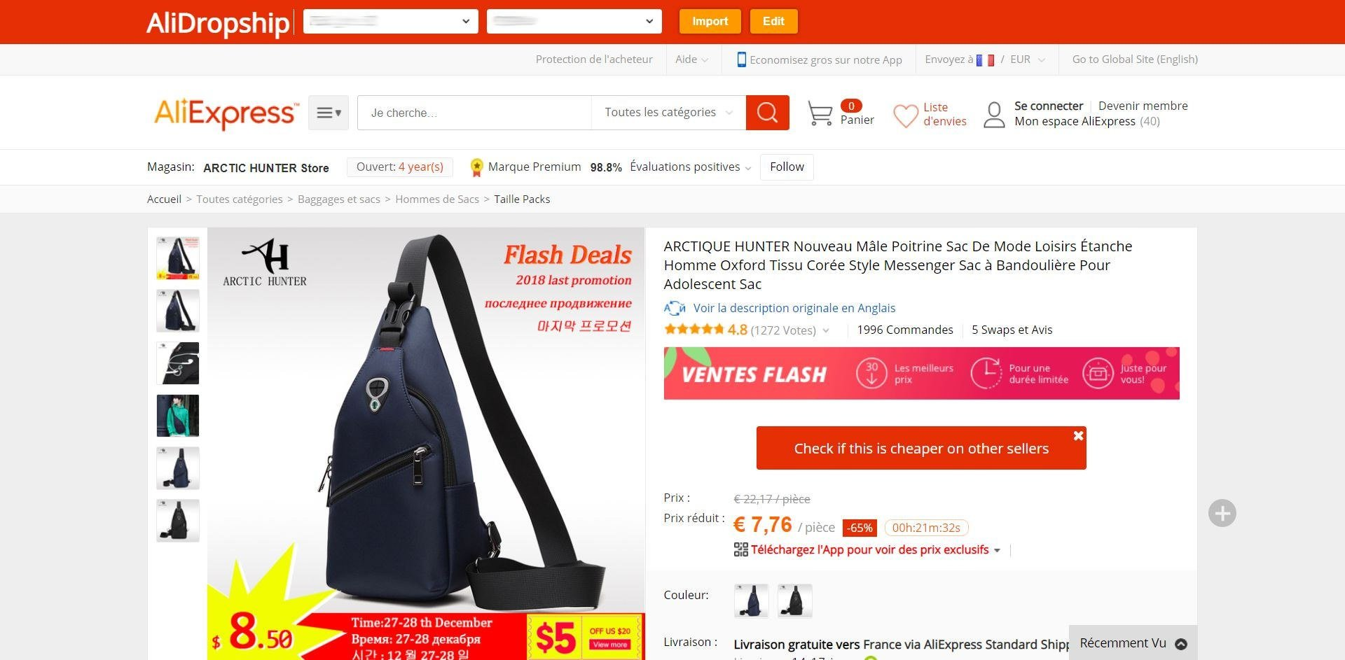 Dropshipping avec AliExpress