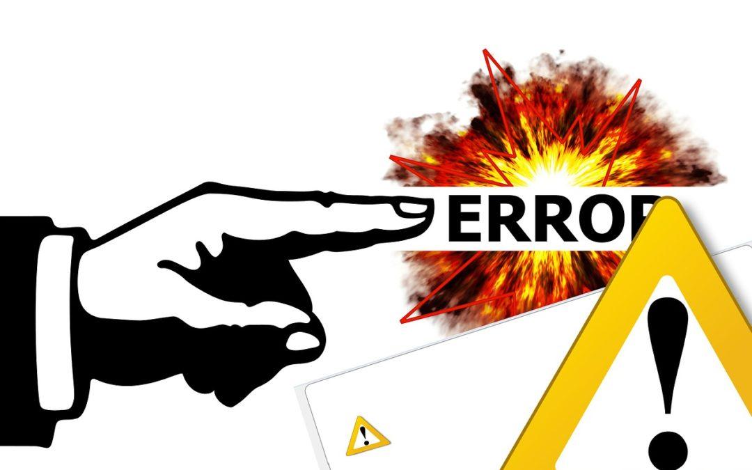 Les 7 erreurs à ne pas commettre lors de votre campagne netlinking